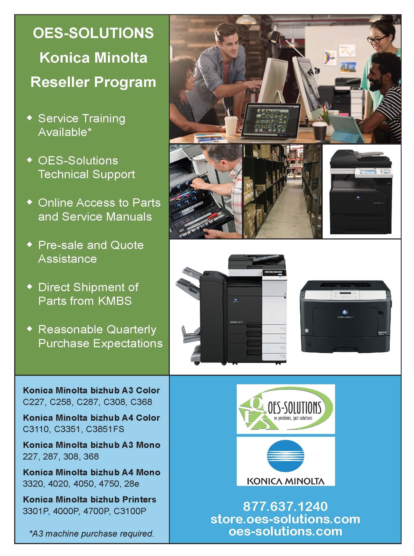 OES Solutions Konica Minolta Reseller Program